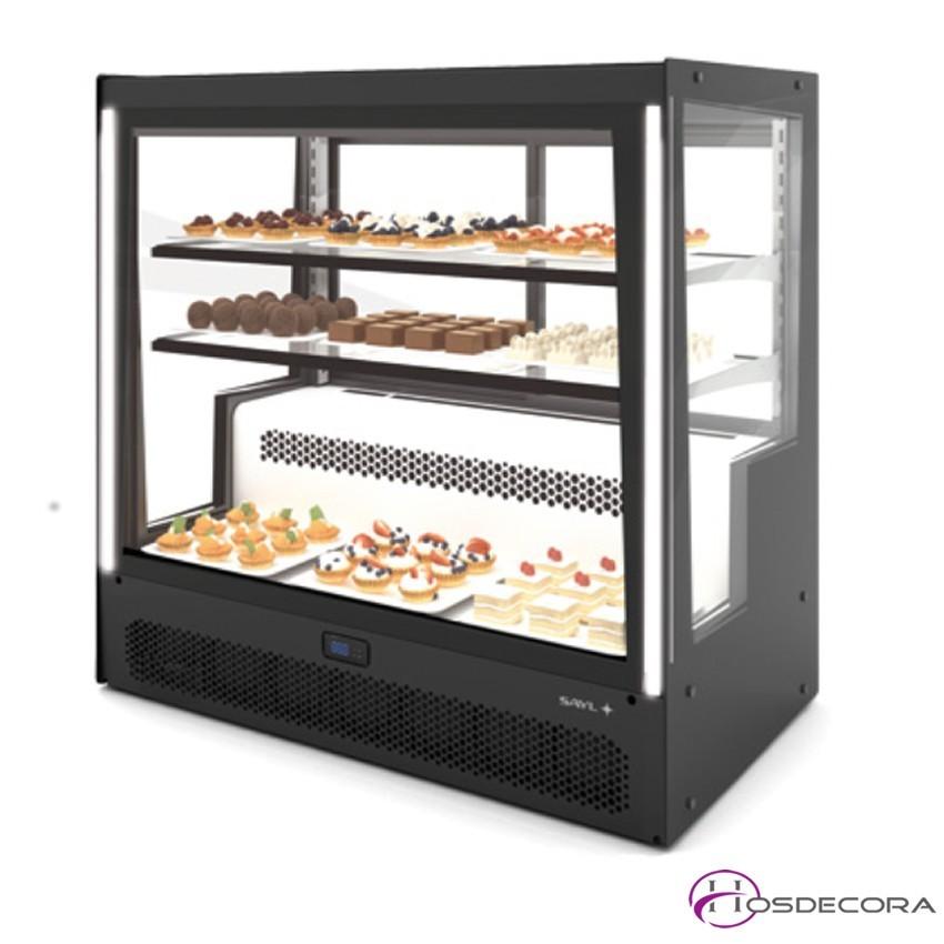 Vitrina refrigerada de gran capacidad y bajo consumo - Vitrinas pequenas ...