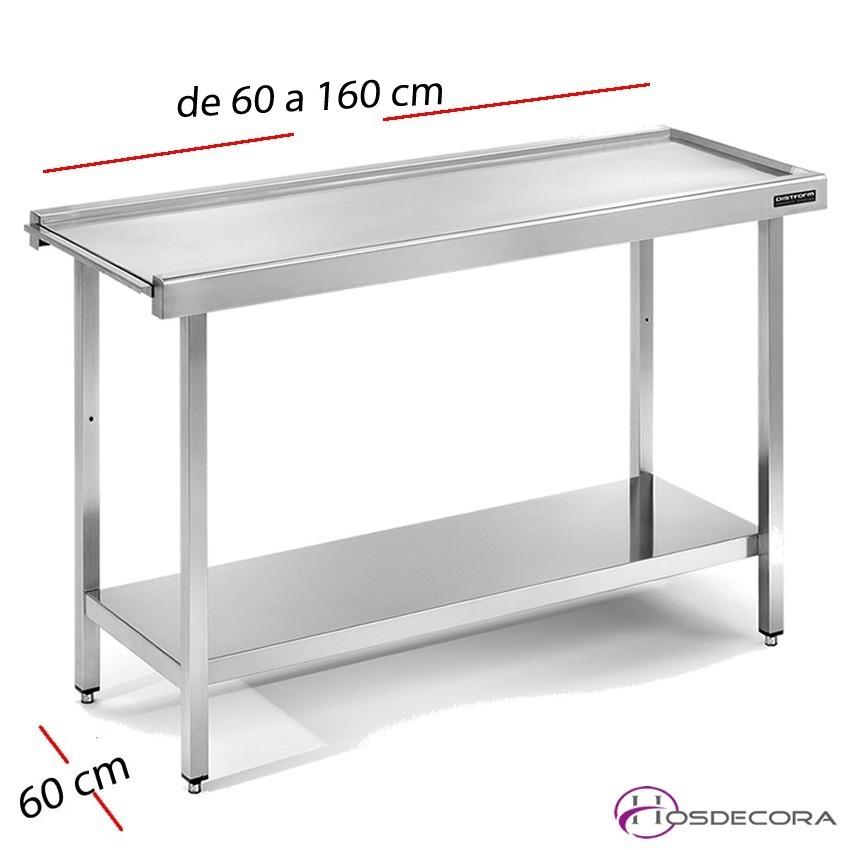 Mesa para lavavajillas central 60 x 60 cm FESCE066