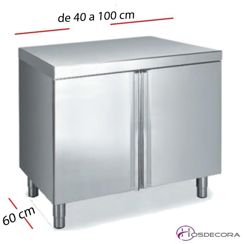 Mesa para lavavajillas pared 160 x 75 cm FESME167