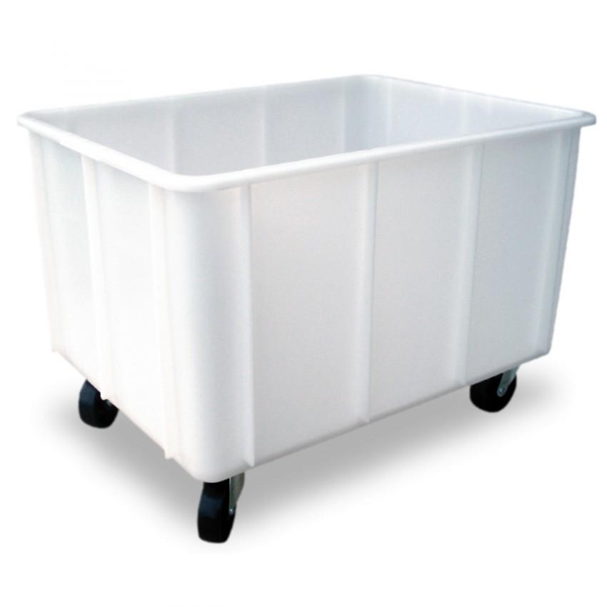 Carro para lavado con desagüe 750x550x560