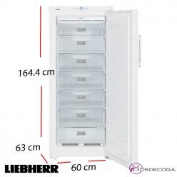 Congeladores altos con puertas opacas tanto inox como - Arcon congelador vertical ...