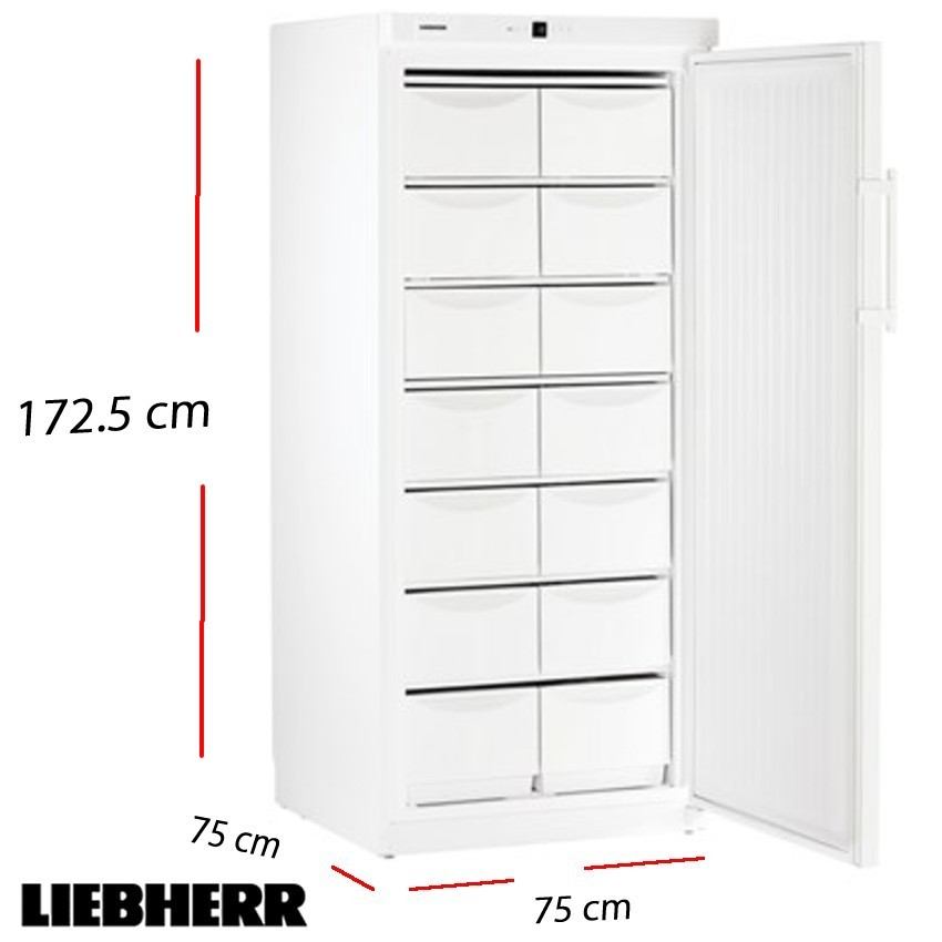 Congelador vertical 224 L. 227 Kw- 60x 63 cm.