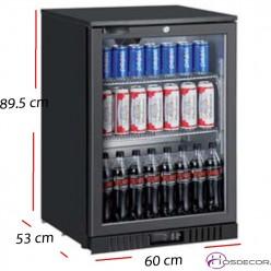 Armario frío para latas 1 P cristal - 98 L- 80 W