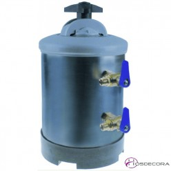 Descalcificador manual de agua de 5L