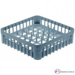 Cesta para platos de plástico 40x40 cm