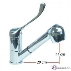 Grifo extensible con mando gerontologico corto 34-548039