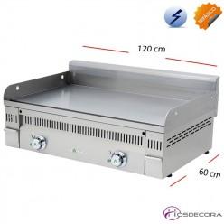 Plancha Eléctrica Acero 120x60 cm -20mm-PL-120-ET