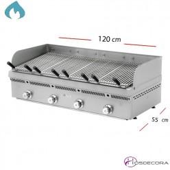 Barbacoa a Gas Inox-Varilla 120x50 cm -PBV-120