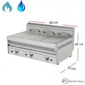 Barbacoa de Agua a Gas Inox-Varilla 90x55 cm -NG-90