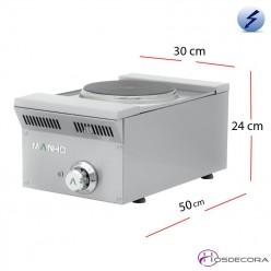 Cocina Eléctrica Sobremesa 30x50 -2.6Kw- ELE-31EM