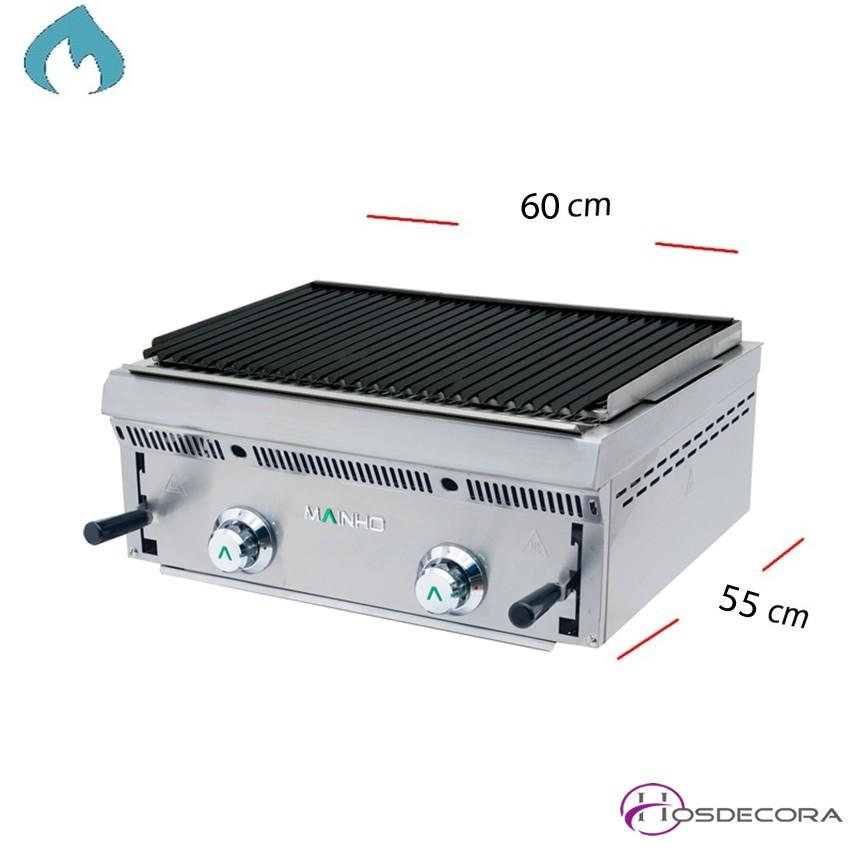 Barbacoa a Gas Pavonada-Volcánica 60x55 cm-PB-60