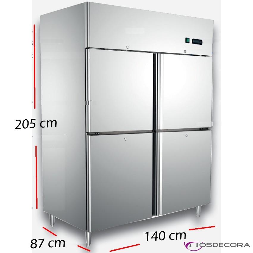 Armario refrigerado de pescado 2 P- 1400 L- 570 W