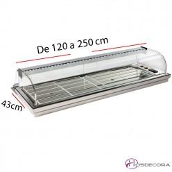 Vitrina para encastrar refrigerada 08-MFR-120+
