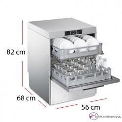 Lavaplatos doble cesto 45-UD522-DS