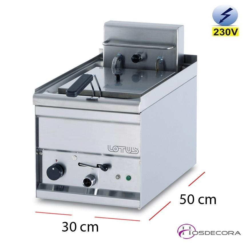 Freidora monofásica 3kW 8 litros