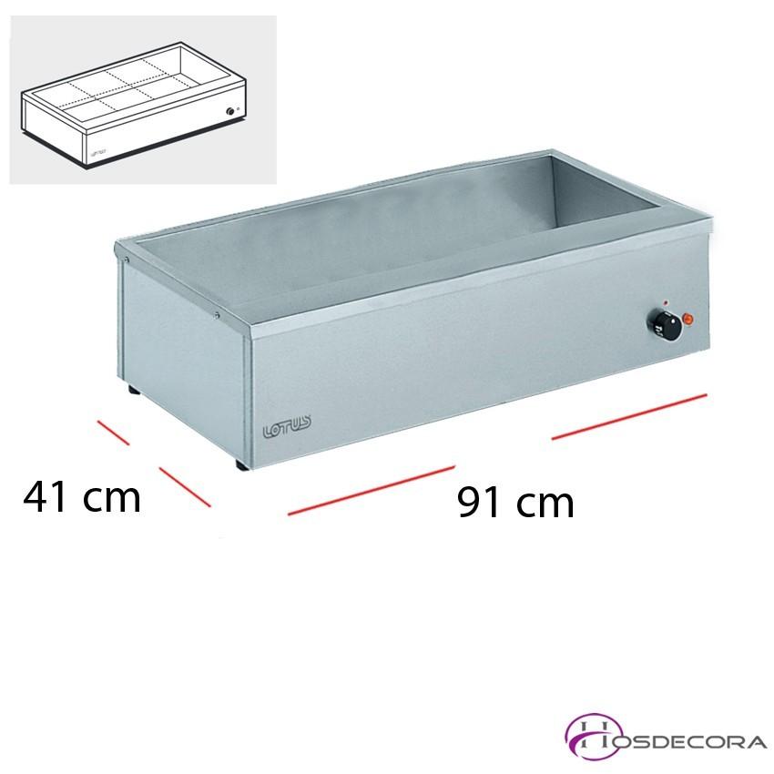 Baño María GN1/1+GN2/3 2.49 kW