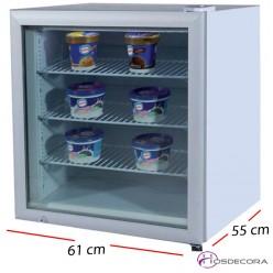 Congelador expositor 1 P. cristal - 50 L- 192 W