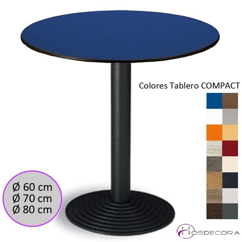 Mesa para Bar Tablero Compac 60x60 cm - HUESCA