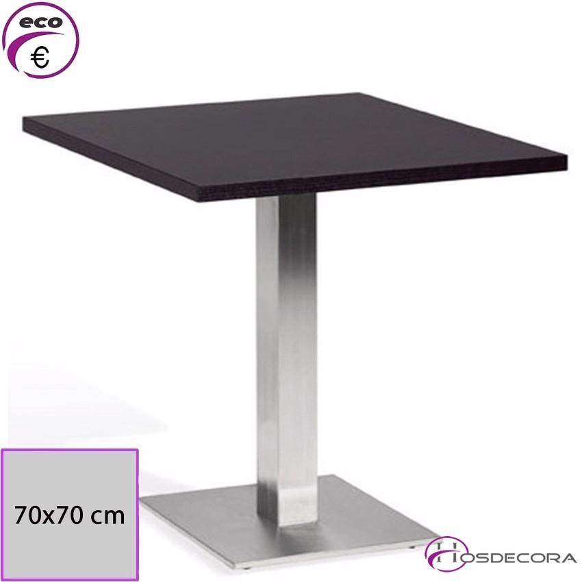 Mesa Alta de bar Tablero Melamina 60x60- Benaza