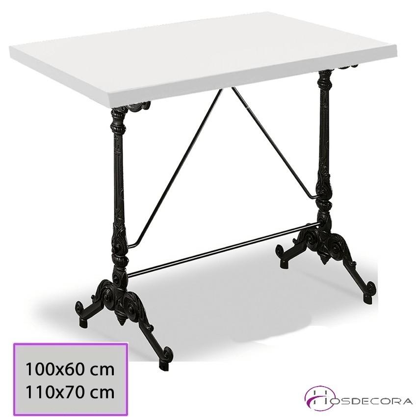 Mesa para cafetería Fadrique rectangular de Melamina