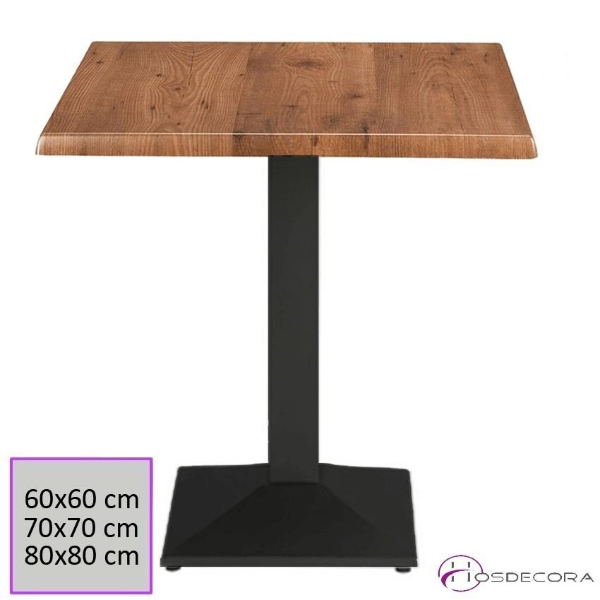 Mesa para Bar Tablero Werzalit 60x60 cm - TERUEL