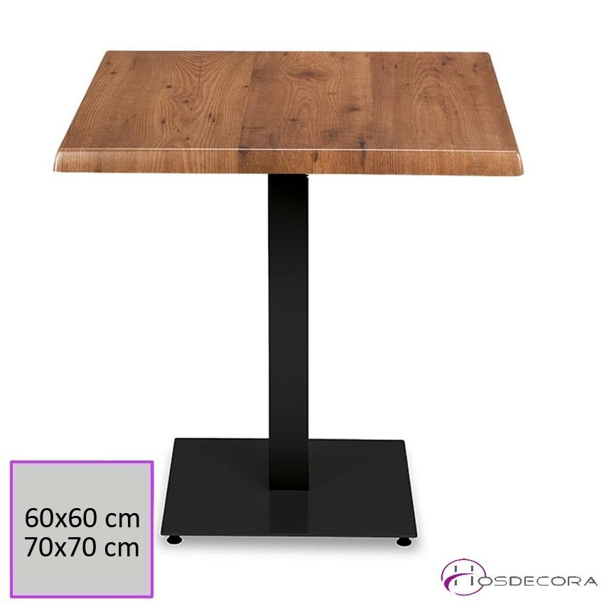 Mesa para Bar PINATAR Tablero Werzalit 60x60 cm