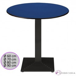 Mesa tablero Compact para bar RUEDA