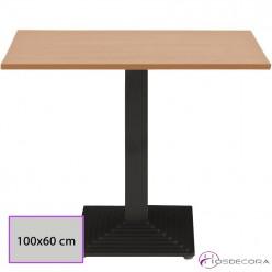 Mesa cafetería rectangular Melamina - VILLAFLORES