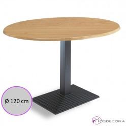 Mesa de restaurante redonda SM Ø120cm FONFRIA