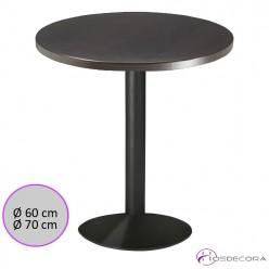 Mesa cafetería redonda Melamina - NAVALES