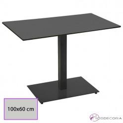 Mesa cafetería tablero Compact 100x60 - PETILLA