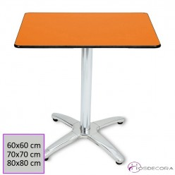 Mesa de bar Cuadrada  60x60 compacto- 29-SITA-4B