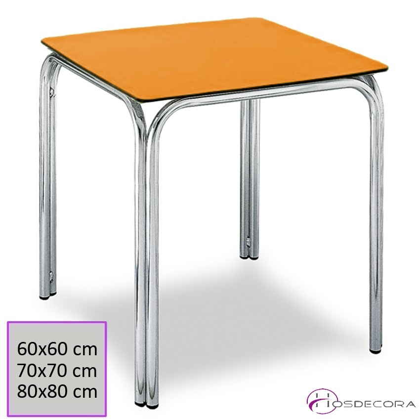Mesa apilable aluminio para terraza RIOCAVADO
