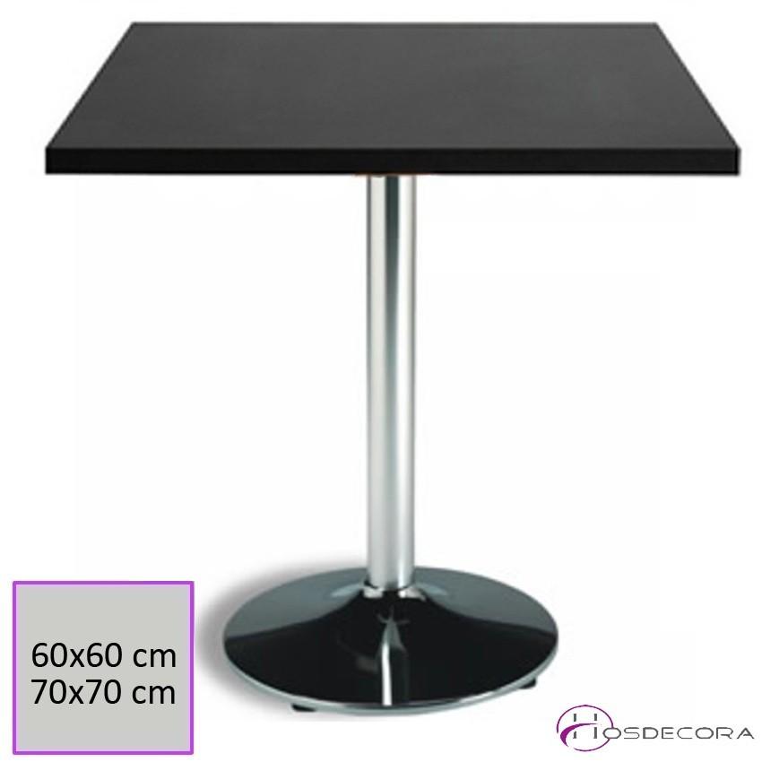 Mesa de bar Tablero 70x70 cm Melamina - MEAÑO
