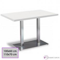 Mesa de bar Acerado 110x70 cm Melamina - ISLA MAYOR