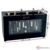 Expositor de barra de vino termoelectrico