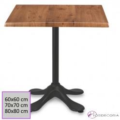 Mesa de bar Aliminio 60x60 cm SM- SALTERAS