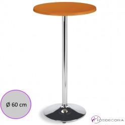 Mesa ALTA de bar tablero SM Redondo 60 cm