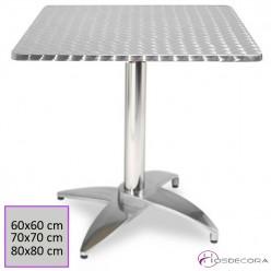Mesa de Terraza Abatible 70 cm. Inox - BERRIZ
