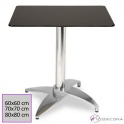 Mesa de Terraza Abatible 60x60 cm Compacto- NAVALVILLAR