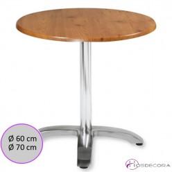 Mesa de Bar Aluminio redonda SM- PALAZUELOS