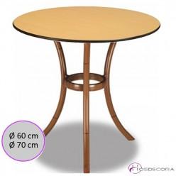 Mesa de Terraza Redonda 60 cm. Compac- COMPETA