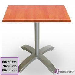 Mesa Cafeteria cuadrada 90x90 Werzalit - 29-WALTER C