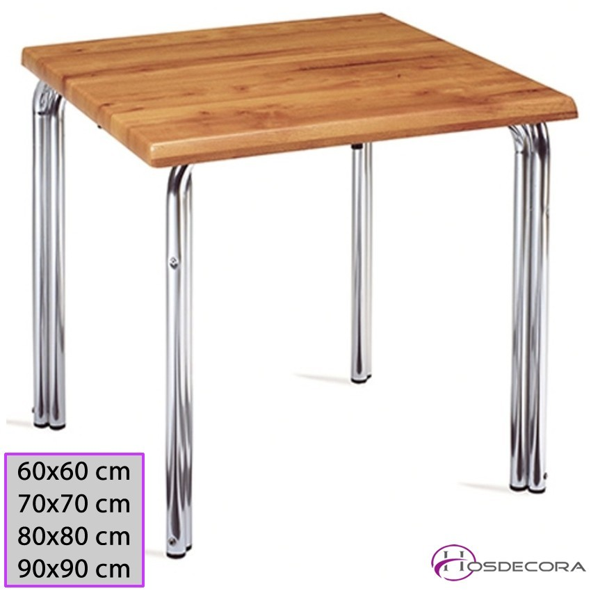 Mesa Bar ALCOLLARIN Tablero Compacto 60x60