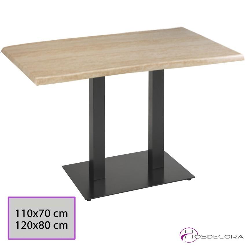 Mesa de bar de patas centrales Tablero SM