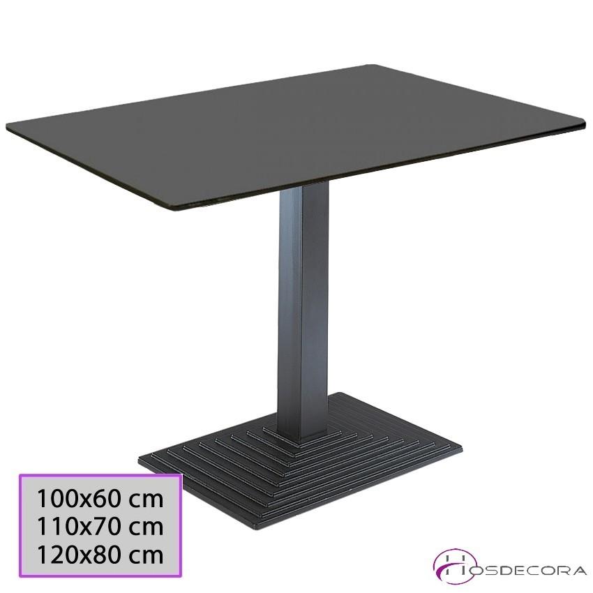 Mesa para Bar Tablero Werzalit 100x60 cm - PARACUELLOS