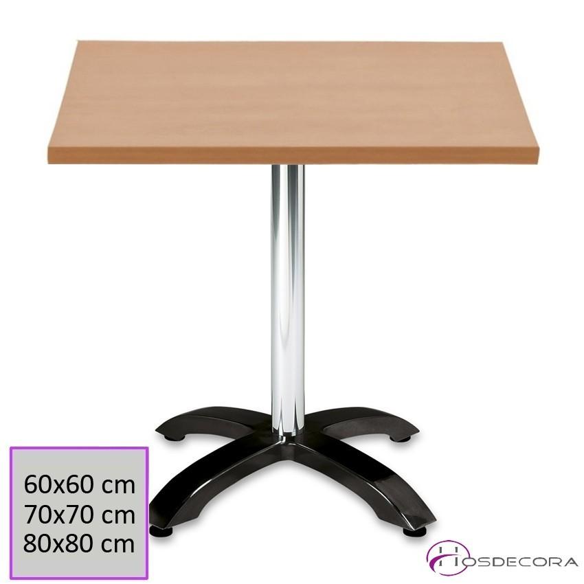 Mesa para Bar Tablero Melamina Ø 70 cm - BAENA