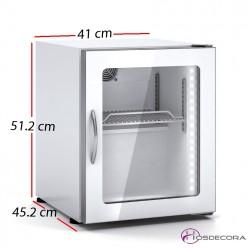 Expositor refrigerado sobre-mostrador 30L