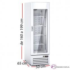 Expositor refrigerado vertical 176W