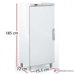 Armario congelador industrial 532L 418W